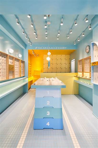 Accessory Gym Hey Cheese Vacanza Retail Archdaily