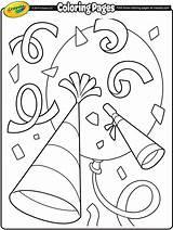 Coloring Confetti Crayola Printable Worksheet Disney Colorings Draw Colors Printables Mh Prints Getcolorings sketch template