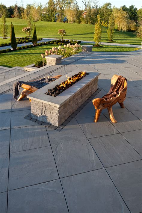 Backyard Propane Pit by Dazzling Propane Pits In Patio Traditional With