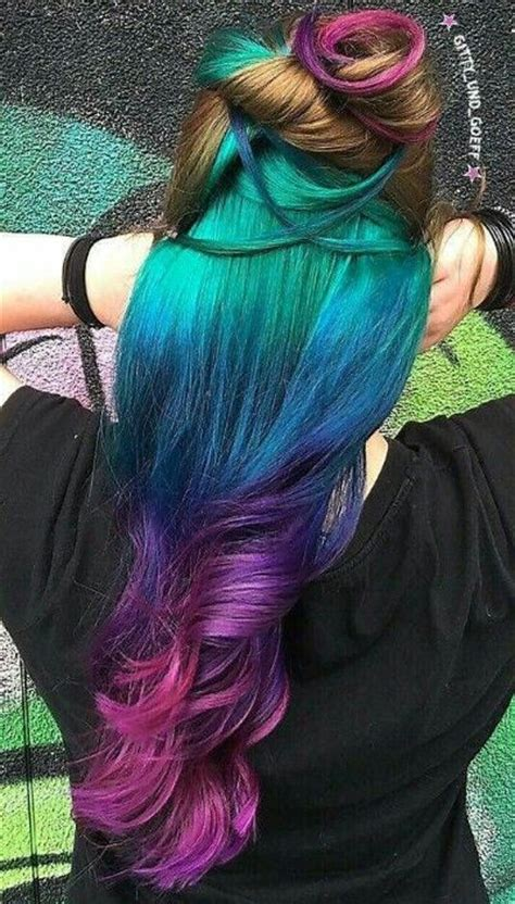 images  colorful hair  pinterest