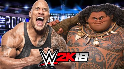 rock  maui wwe  gameplay youtube
