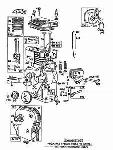 Toro 62912  5 Hp Lawn Vacuum  1981  Sn 1000001