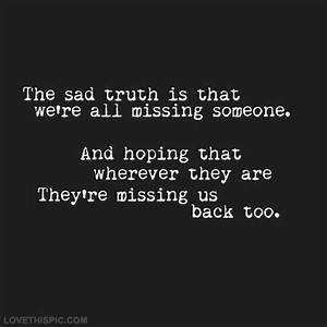 Missing Someone Pictures, Photos, and Images for Facebook ...