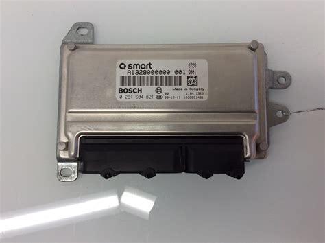 2009 Smart Fortwo Engine Control Module Unit Ecm Ecu
