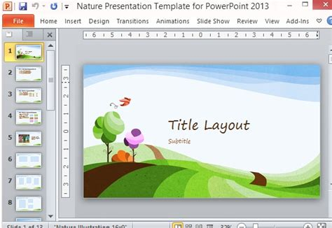 Mac powerpoint templates costumepartyrun free nature powerpoint templates for mac choice image toneelgroepblik Image collections
