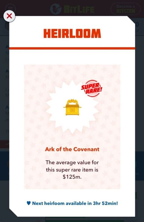 bitlife heirloom heirlooms faq sell game