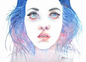 Agnes Cecile-inspired Portrait Painting by Ace Spencer