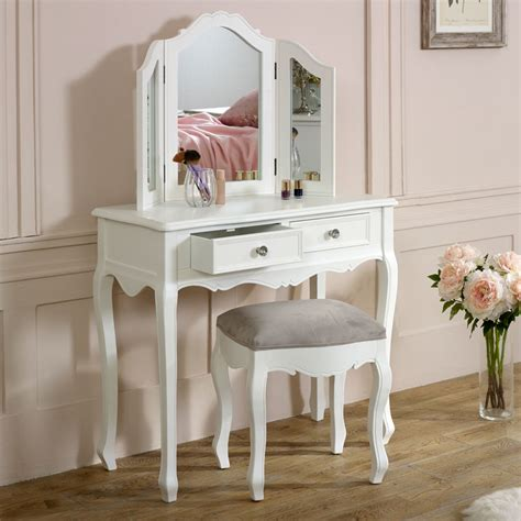 Dressing Table With Mirror And Stool by White Dressing Table Mirror Stool Set Range