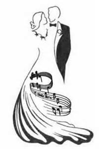 musiques mariage décoration de mariage sur le thème musique pour une cérémonie qui se termine sur une note
