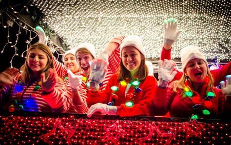 electric light parade aps electric light parade lights up central