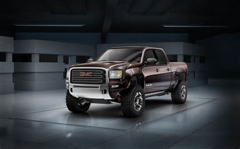 Gmc Sierra All Terrain Hd 4×4 Off-road Concept To Take On