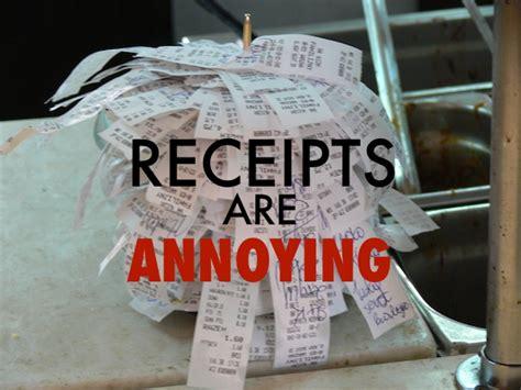 easy ways   track  receipts