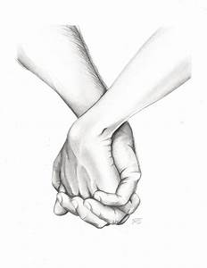 Simple Holding Hands Drawing at GetDrawings.com | Free for ...