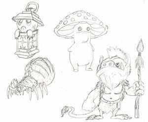 Creature Drawings by Phantasm-D-Lagosa on DeviantArt