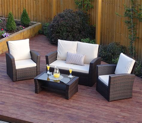 Sunroom Sofa Sets by 4 Algarve Rattan Sofa Set For Patios Conservatories