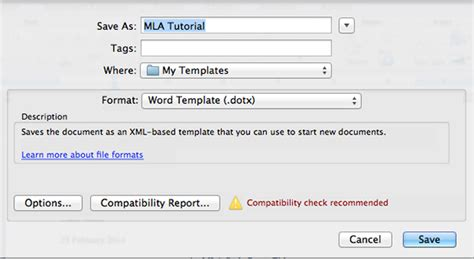 mla word template how to create an mla template in word and pages tuts computer skills tutorial