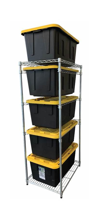 Rack Bin Steel Saferacks Garage Racks Ceiling
