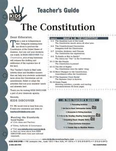 Free Constitution Worksheets for Kids