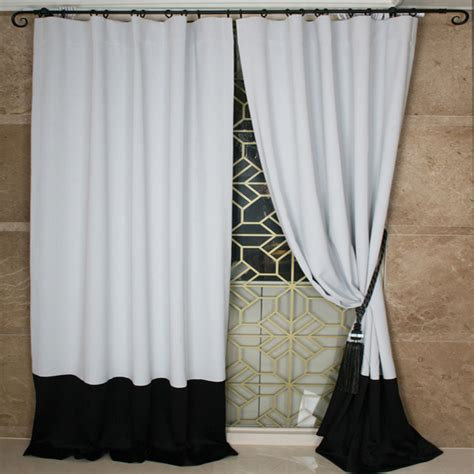 black curtains for bedroom custom drapes curtains home the honoroak 14576