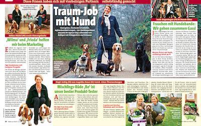 Janin Ziegenhagen Traumjob Mit Hund Wilma Und Frieda Erneut In Der Presse Sabine Dinkel Personalberatung