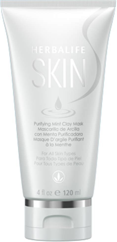 vitamin herbalife purifying mint clay mask herbalife skin