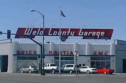 weld county garage greeley colorado then and now
