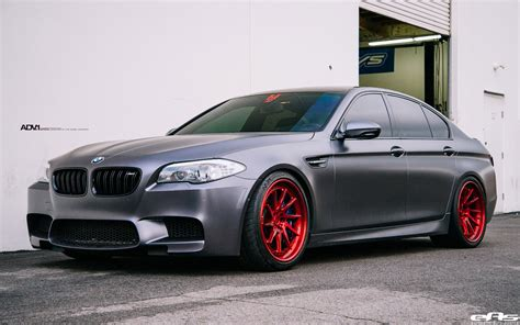 Frozen Gray Bmw F10 M5 With Adv.1 Wheels