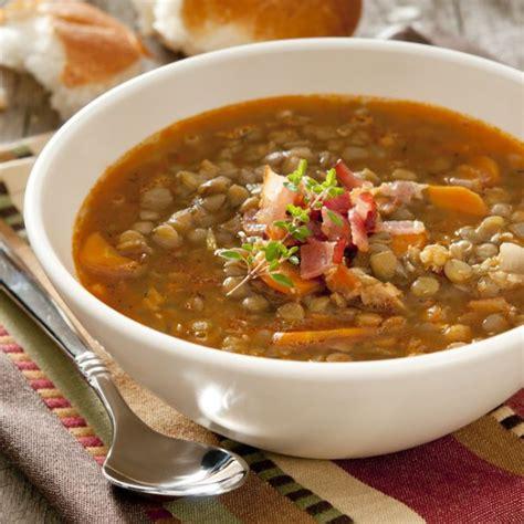 recette soupe de lentilles  carottes facile rapide
