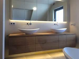 Waschtisch Mit Holzplatte : k che unterschrank massivholz elegante ~ Lizthompson.info Haus und Dekorationen