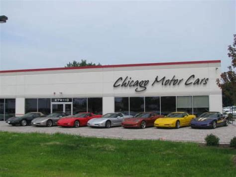 Dealers Chicago by Chicago Motor Cars West Chicago Il 60185 Car Dealership
