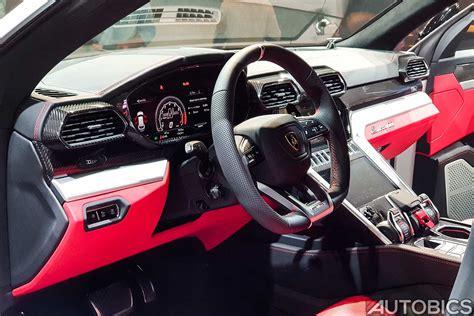 2019 Lamborghini Urus Interior Autobics