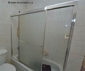 installer une porte de douche coulissante With porte de douche coulissante avec rénovation salle de bain quimper