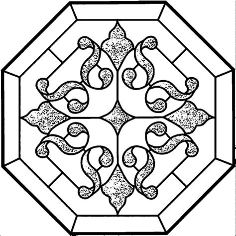 Stained Coloring Pages Wecoloringpagecom