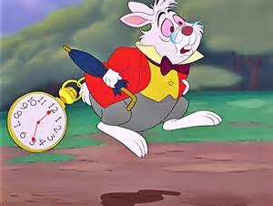 White Rabbit Alice Wonderland Disney