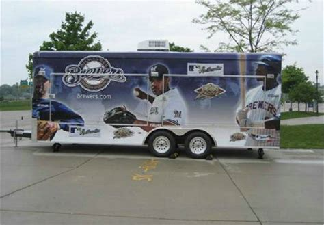Boat Trailer Rental Milwaukee by Milwaukee Brewers Concession Trailer Advantage Trailer