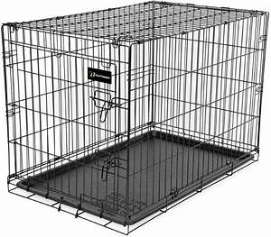 Petmate Ruff Maxx Wire Kennel For Dogs  Black  48