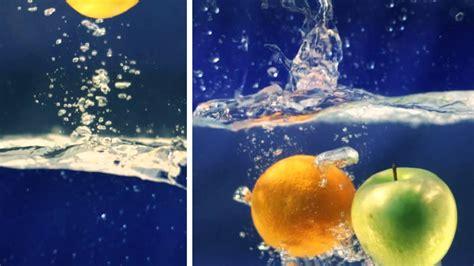 Slowmotion Fruits Splash Youtube
