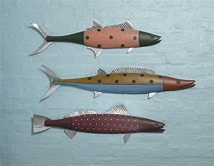 45 best images about carved fish on pinterest ruby lane With best brand of paint for kitchen cabinets with hand carved wooden wall art