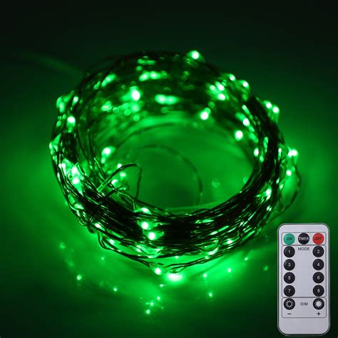 battery operated led lights with remote 10m 100 leds battery operated decorative string light with
