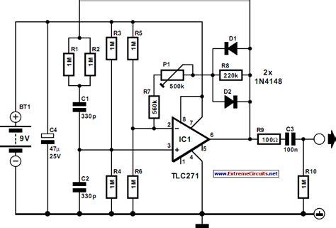 circuit diagram signal generator audio signal generator circuit diagram