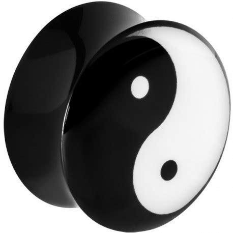 Fosil Motif Yin Yang avec motif ying yang acrylique gros diam 232 tre plfpl090