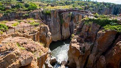 Blyde Canyon River Africa South Places Travel