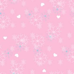 Light Pink Snowflake Background by Nabila S Diary Background Winter And Snow