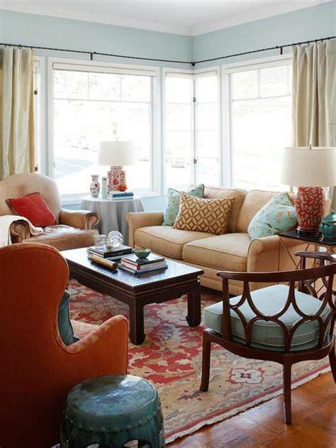Light Blue Walls Living Room [peenmedia]