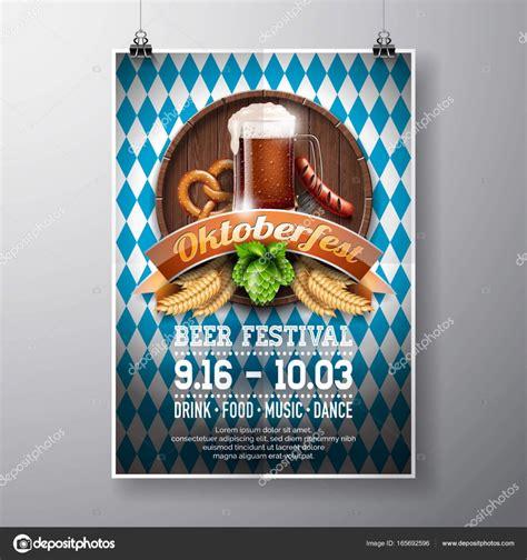 oktoberfest plakat vorlage kostenlos  format bewerbung