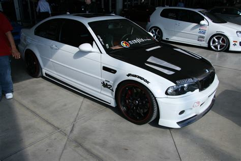 bmw m3 modified modified bmw e46 m3 sema 2008 1 madwhips