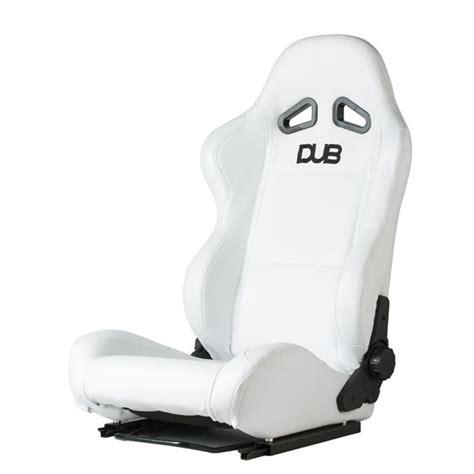 siege baquet discount siège baquet en microfibre blanc dub achat vente