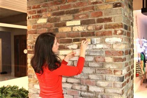 how to make a backsplash in your kitchen whitewashed bricks tutorial departamentos piedra y rojo 9784
