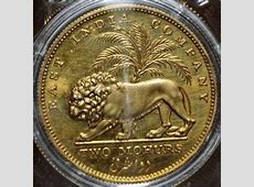 East India Company 1835 King William IV two mohurs gold