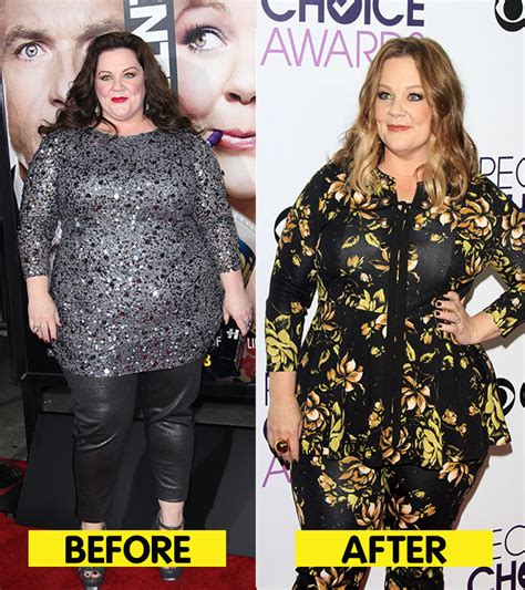 revealed melissa mccarthy weight loss secrets